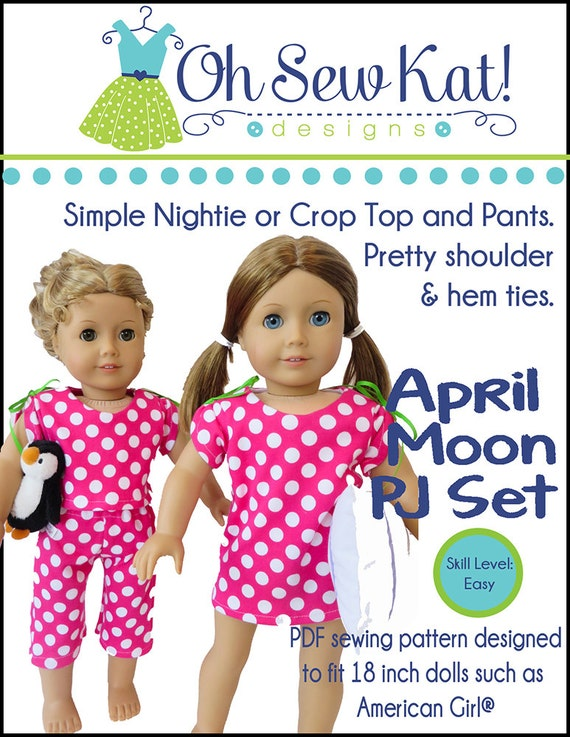 Oh Sew Kat April Moon pattern on Craftsy