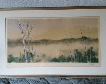 Violard lithgraph signed and numbered