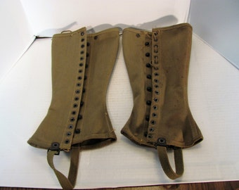 Military Leggings from WW II