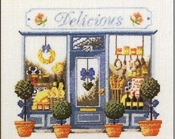 Permin Cross Stitch PATTERN/GRAPH   Bakery Store Front NEW