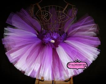 Purple Passion Tutu - newborn tutu, infant tutu, baby tutu, dance tutu, dress up tutu, pageant tutu, 1st birthday tutu, baby shower tutu
