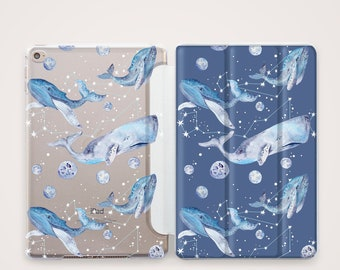 Space whales case iPad Air case iPad Pro case iPad 10 5 case iPad whales case iPad Space case iPad Mini case iPad Pro 12 .9 case ipad cover