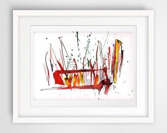 modern print poster, modern print 8x10, abstract fine art, modern fine art, archival print, mid century modern