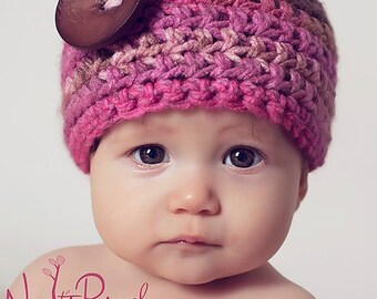 Crochet PATTERN - Crochet Hat Pattern - Crochet Patterns for Babies - Crochet Patterns - Inclues Baby, Toddler, Kids, Adult Sizes - PDF 155
