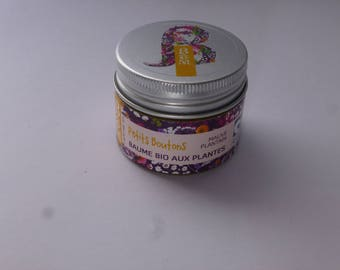 Balm Bom small buttons plantain and Mallow