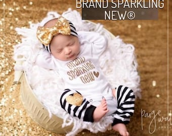 Newborn girl outfit, newborn coming home outfit, baby outfit, baby girl outfit, newborn girl outfit, take home outfit
