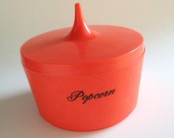 Vintage Popcorn Lidded Bowl I Dream of Jeannie / Genie style
