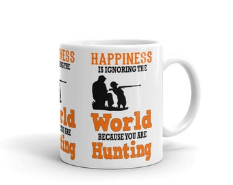 Father and Son ,Hunting Mug