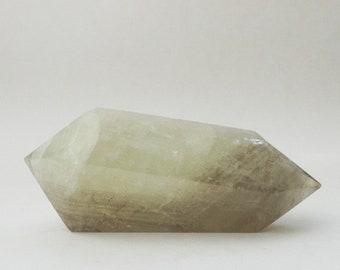 Double Terminated Natural Citrine - Polished crystal, Crystal Healing, Abundance, Gem, Gemstone