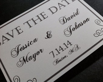 Wedding Save The Date