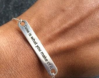Friendship Bracelet, Silver Friendship Bracelet, Charm Bracelet