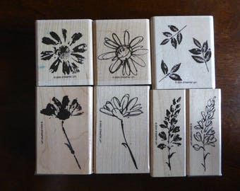 Petal Prints Stamp Set by Stampin Up (Retired)