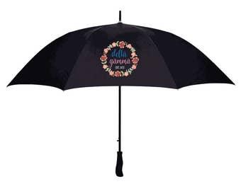 Delta Gamma Floral Umbrella