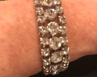 Sparkly 1950's Rhinestone Bracelet