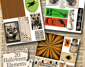Halloween Instant download kit