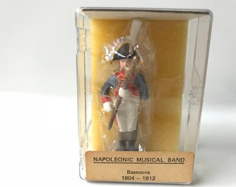 Reeves International Toy Soldiers Napoleonic Music Band Bassoons # 15