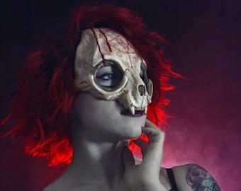 Cat Skull Mask - Devil