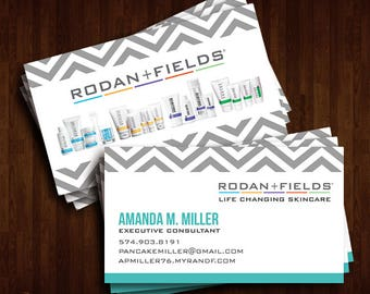 Rodan + Fields Business Cards, R+F Consultant