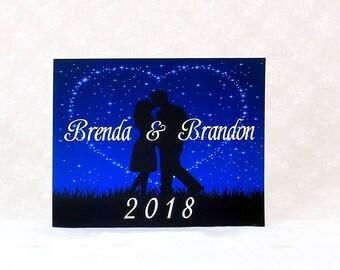 Starry Night Wedding Sign