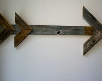 Arrow Wall Art Made from Authentic Barn Wood!