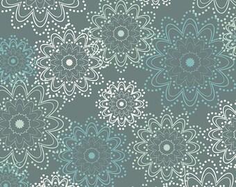 Ocean Sparkes in Teal -  ESSENTIALS by Pat Bravo - Art Gallery Fabrics - By the Yard