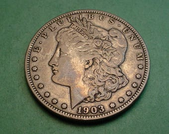 1903-S Morgan Dollar Very Fine    / insurance included in SH  <>ET5273