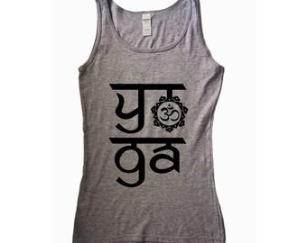Lotus. Yoga. Yoga Tank. Yoga Shirt. Yoga Clothes. Yoga Clothing. Yoga Top. Yoga Tank Top. Women's Yoga. Yoga TShirt. Namaste. Satsang