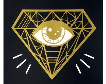Eye Sharpener - Limited Edition Screenprint