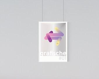 Grafische #1 - A2 Graphic Design Print