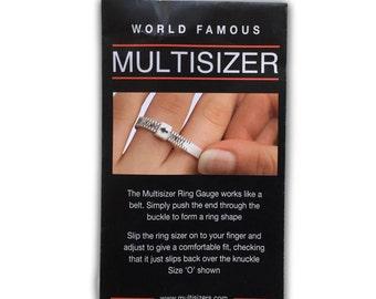 Wooden Ring Sizing Gauge