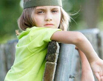 Boys Headband - Boho Headband - Aztec Headband - Bohemian Headband - Adult Headband - Tribal Headband - Green Headband - Camo Headband