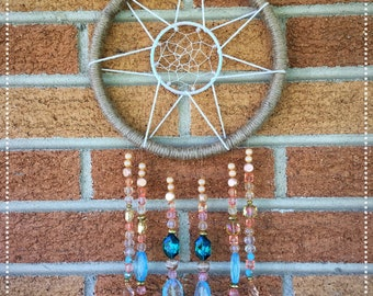 Decorative Sunburst Dreamcatcher Sun Catcher