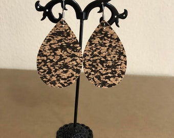 Cork Eco Friendly Earrings