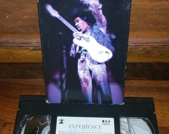 Jimi Hendrix Experience VHS Video Live Concert Movie Film