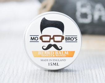 Mo Bro's Vanilla & Mango Beard Conditioning Balm 15ml