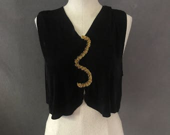Costume Cropped Top