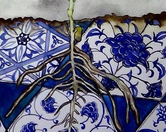 Turkish Roots - Print of Original Watercolor