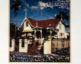 Trinidad House Polaroid Print