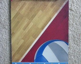 VOLLEYBALL sport Altered Clipboard coach