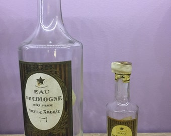 Set of 2 bottles of Cologne T & G