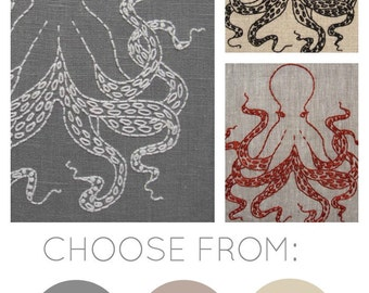 Octopus Embroidery Kit {basic}