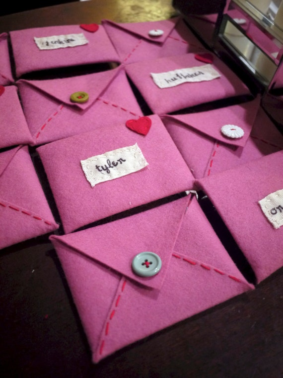 Felt Valentine Envelope
