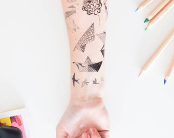 TEMPORARY TATTOOS - The heart one