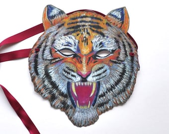 Tiger Mask /Halloween / Paper