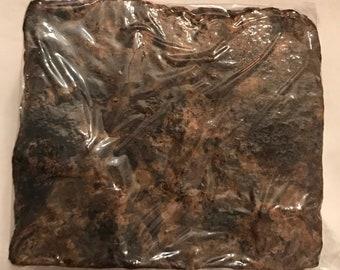 Raw African black soap 5.9 oz