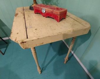 Antique Farmouse Wood Kitchen Table