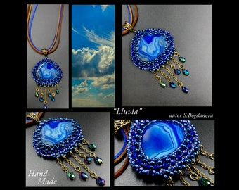 Handmade Rain Necklace