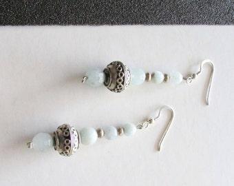 Aquamarine Earrings - Drop Earrings - March Birthstone - Gemstone Earrings - Aquamarine Jewelry - Birthstone Jewelry