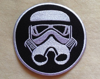Storm Trooper Starwars Iron On Patch