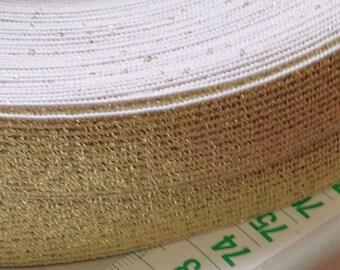 10 m gold elastic 40mm